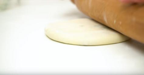 Лепешки с мясом и зеленью