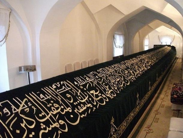 Могила пророка Данияра находится в мавзолее Ходжа Дониер в Самарканде